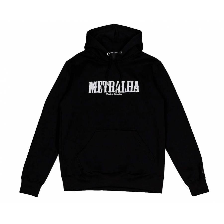 Metralha Battle Hoodie - Black