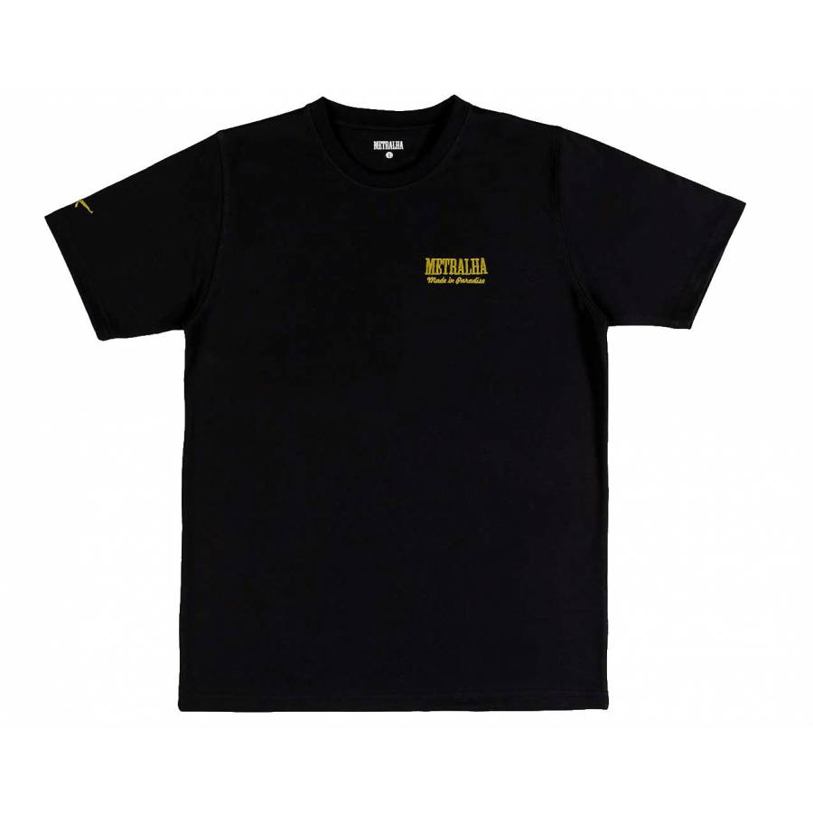 Metralha Golden Classics T-Shirt - Gold