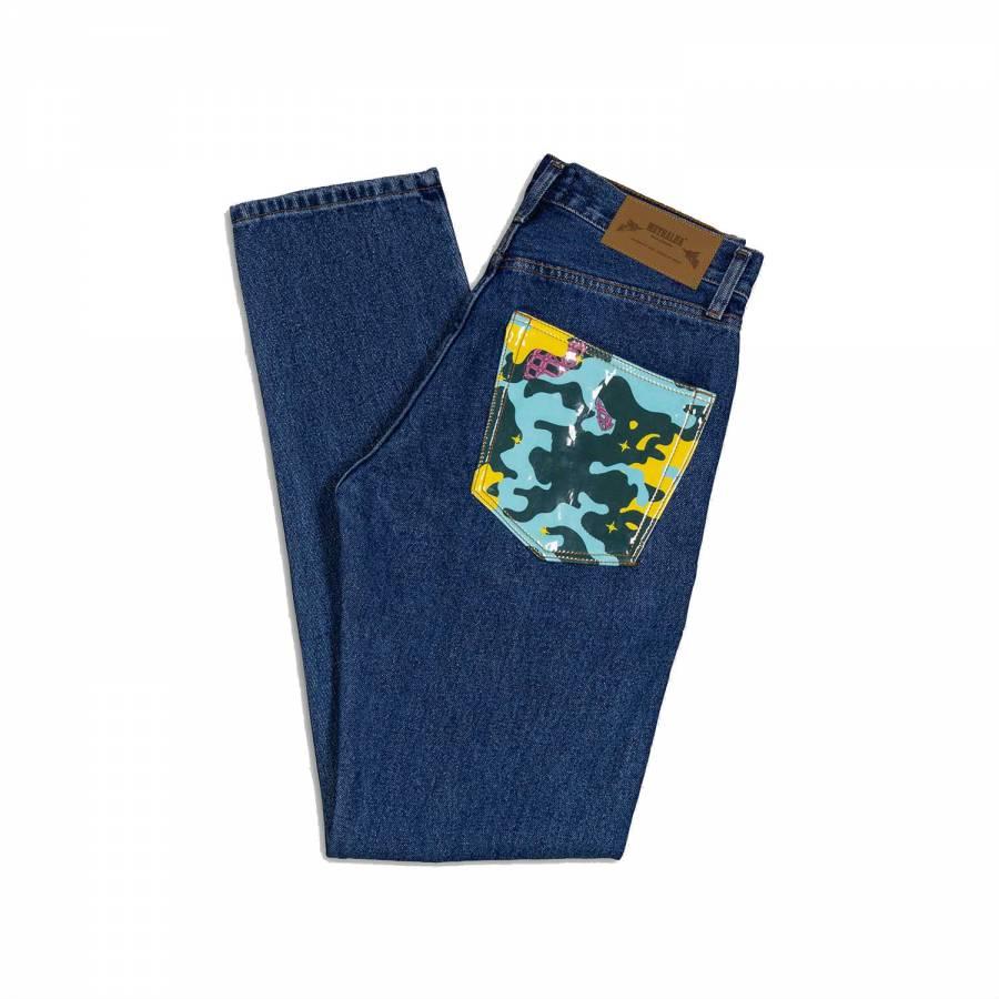 Metralha Premium Jeans - Medium Blue