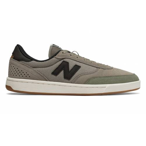 New Balance Numeric 440 Shoes - Olive with Black