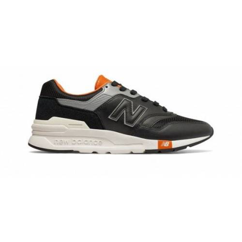 New Balance 997H - Black with Vintage Orange