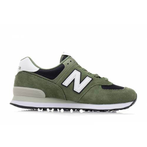 3df05579286 New Balance 574 Esp Shoes - Green   Navy