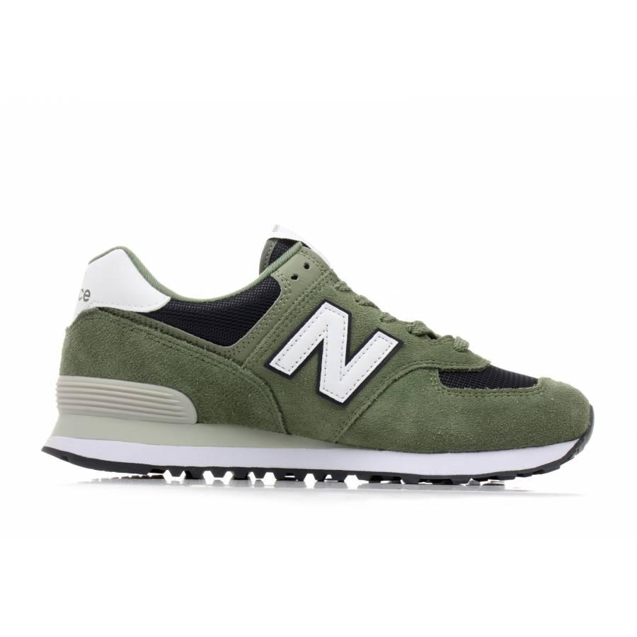 New Balance 574 Esp Shoes - Green / Navy