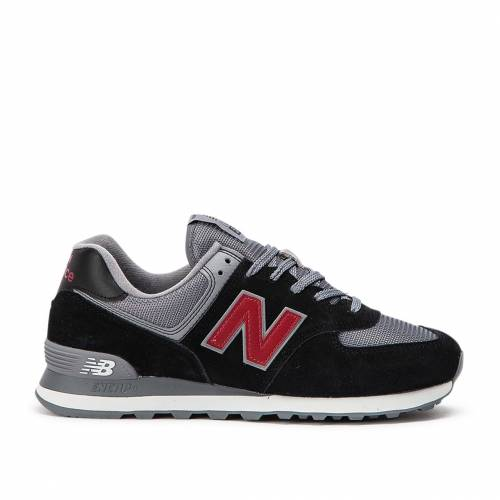 New Balance 574 Esu Shoes - Black / Grey