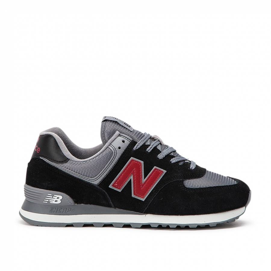 New Balance 574 Esu Shoes - Black / Grey