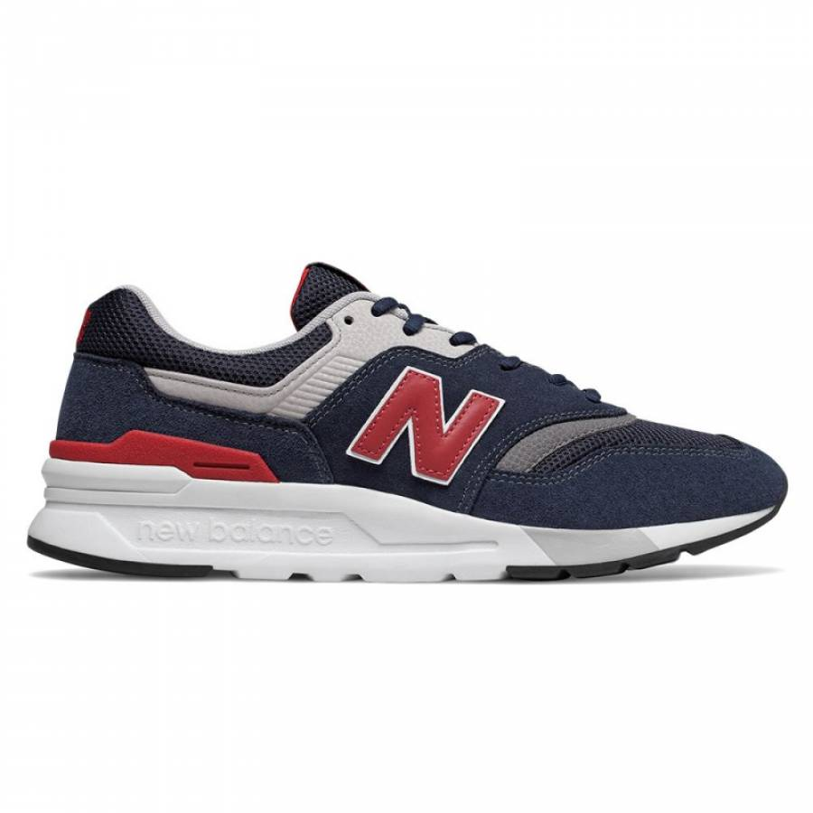 New Balance 997 Shoes - Navy / Red