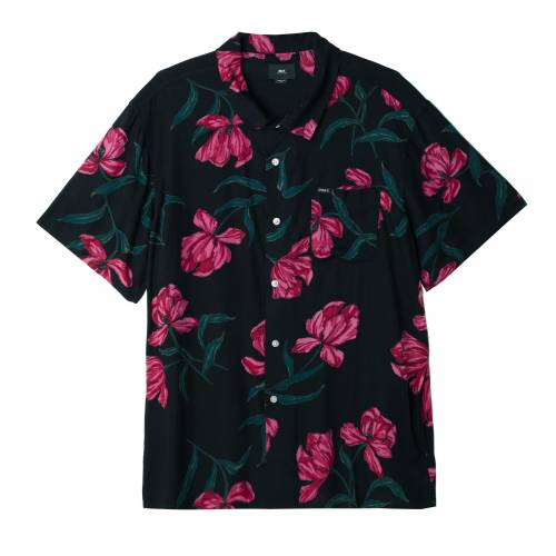 Obey Lily Shirt - Black