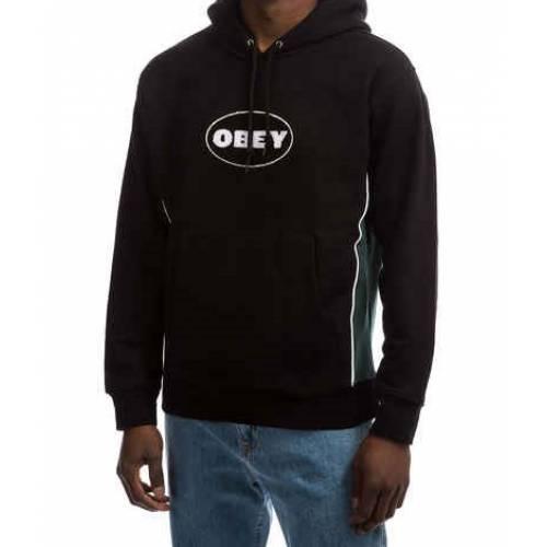 Obey League Hoodie - Black