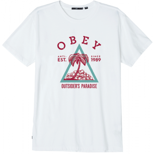 Obey Outsider's Paradise Tee - White