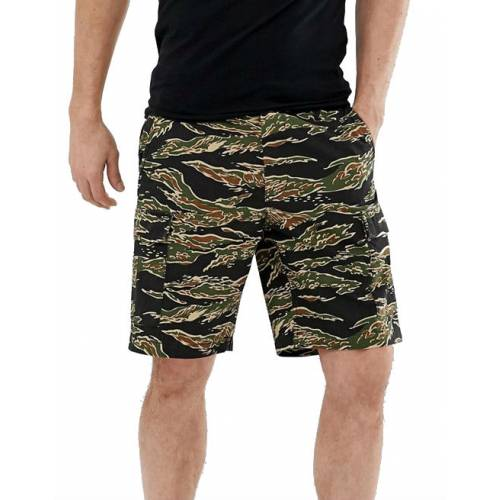 Obey Recon Cargo Short - Tiger Camo