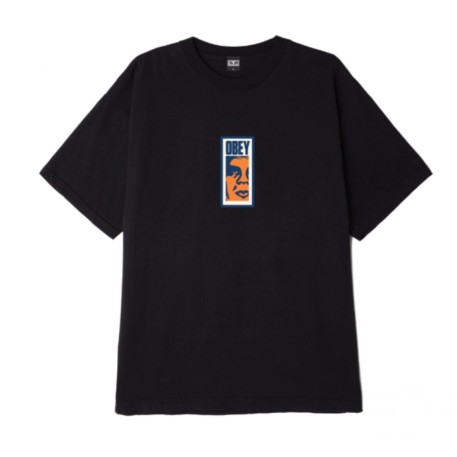 Obey Slim Icon Heavy Weight Classic Box T-Shirt - ...