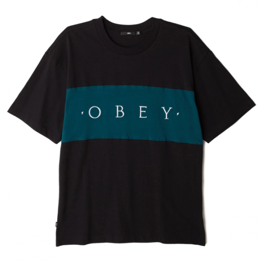 Obey Conrad Classic T-Shirt - Black Multi