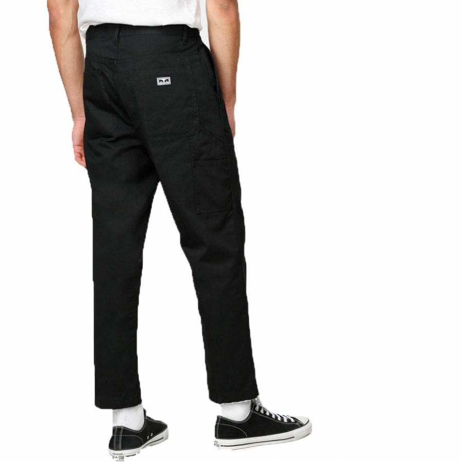 Obey Hard Work Carpenter Pant II - Black