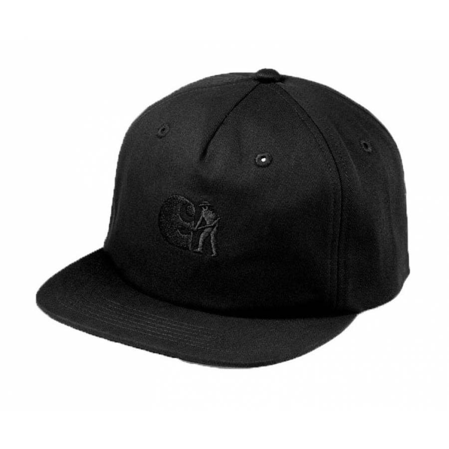 Carhartt Pass Port Wip Cap - Black