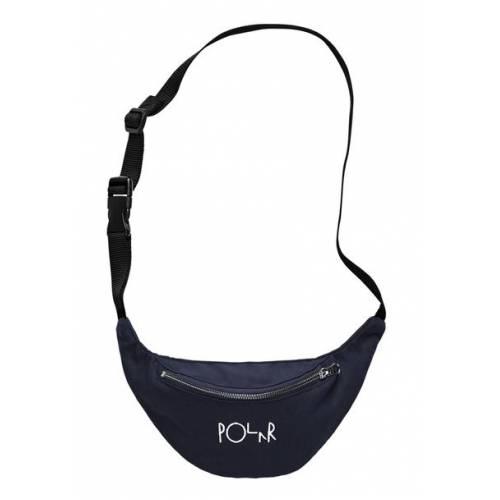 Polar Script Logo Hip Bag - Navy