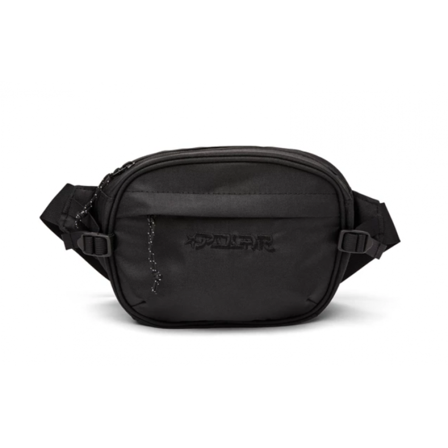 Polar Cordura Hip Bag - Black