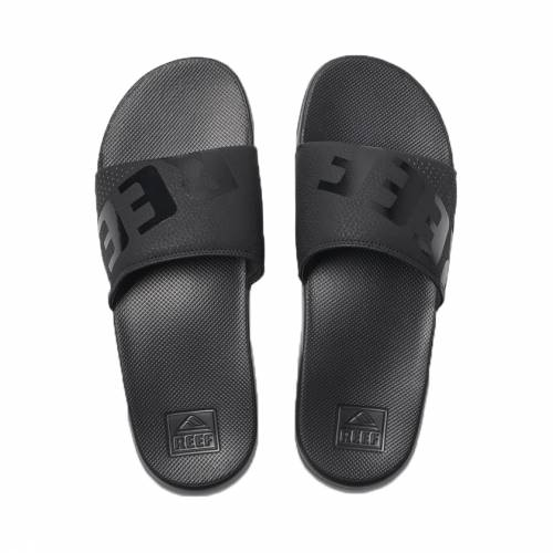 Reef One Slide - All Black