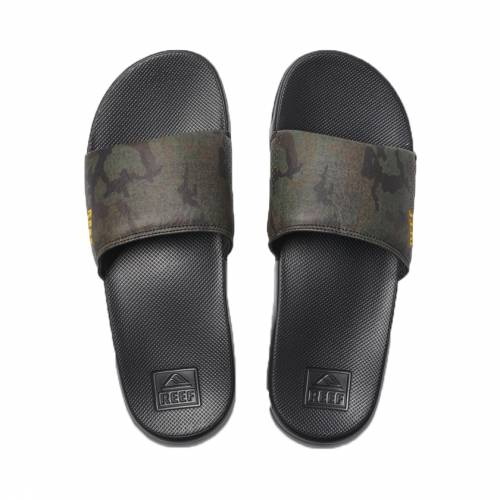 Reef One Slide - Green Camo