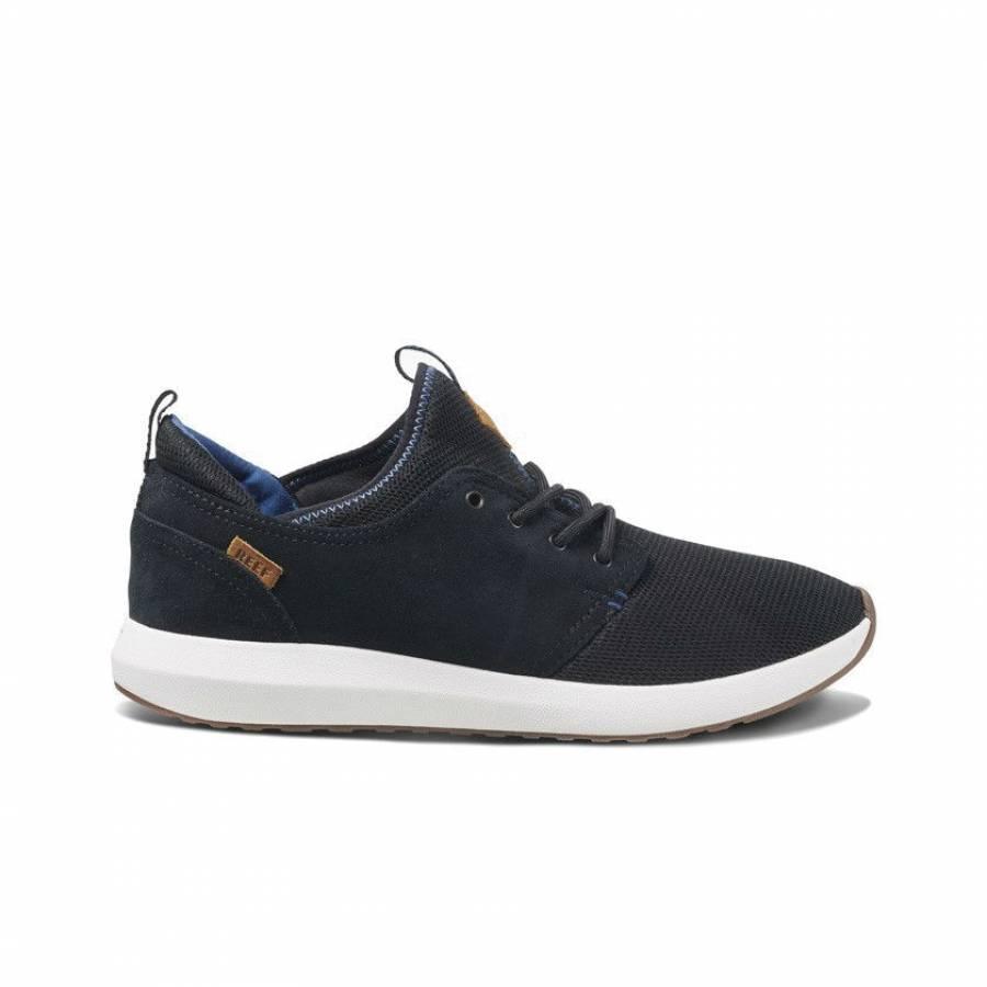 Reef Cruiser Shoes - Black / White / Aqua