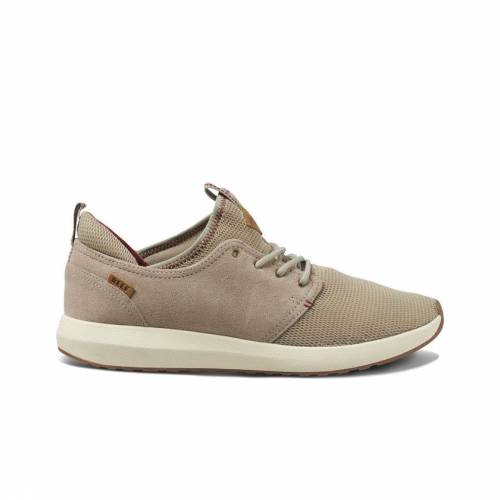 Reef Cruiser Shoes - Khaki / Cream / Red