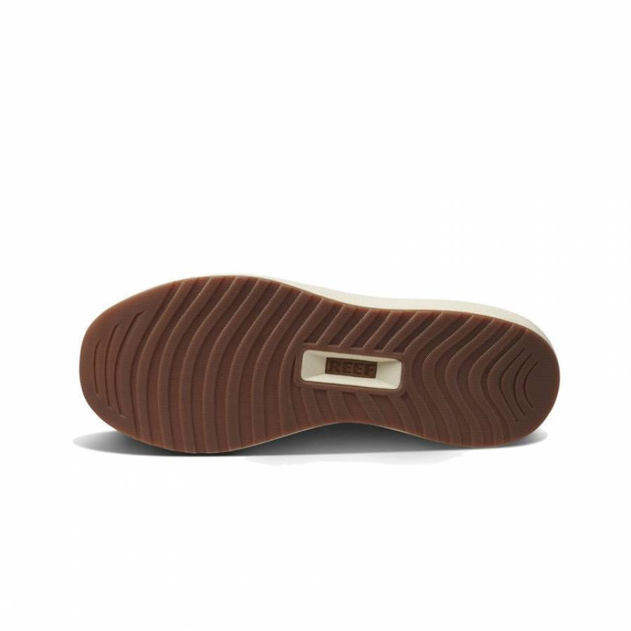 Reef Cruiser Shoes - Khaki / Cream / Red