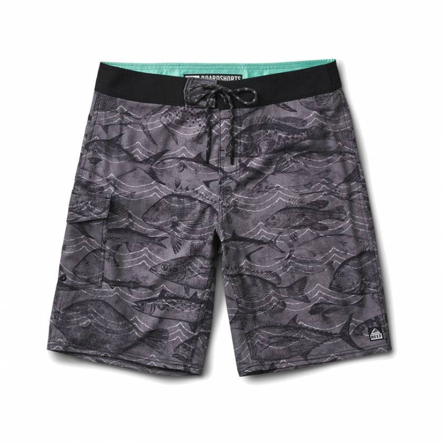 Reef Sea 2 Boardshorts - Blue / Grey