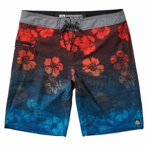 Reef Vines Shorts - Red