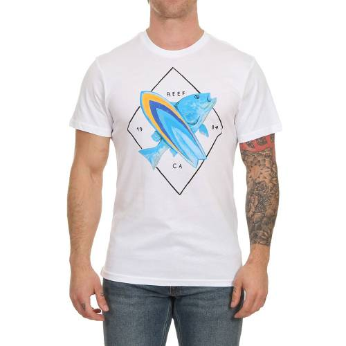 Reef Color Tee - White