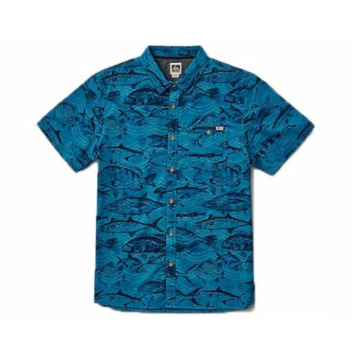 Reef Fishy Seas  Shirt - Blue