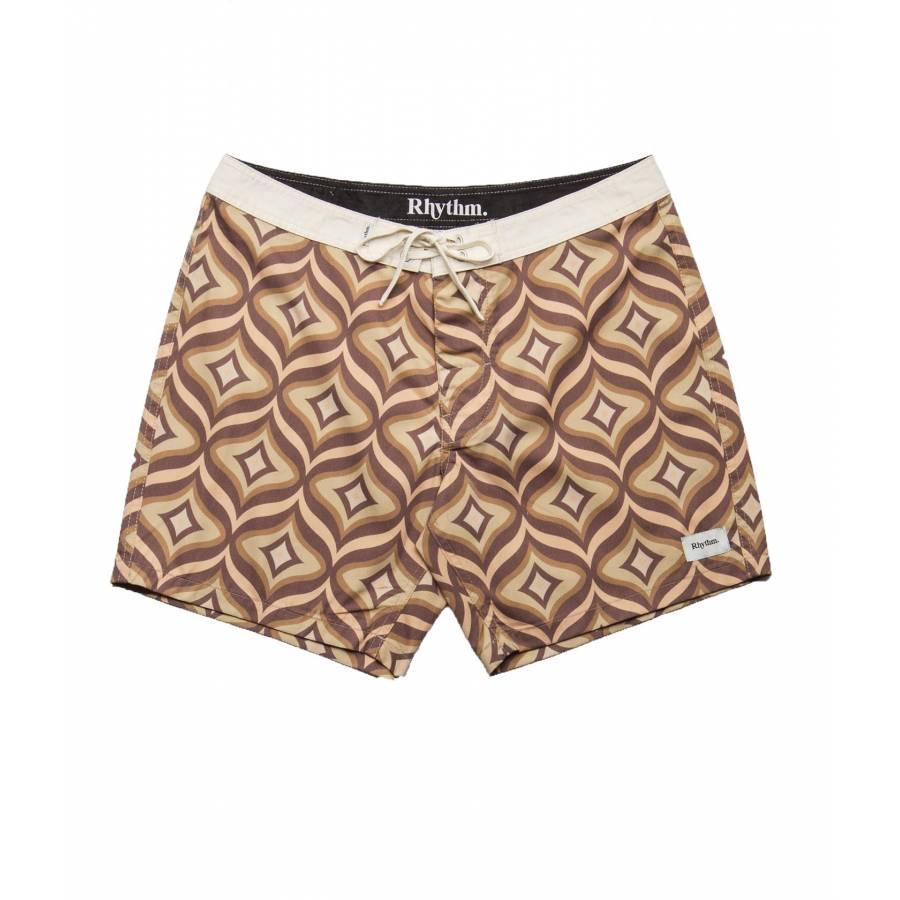 Rhythm Bungalow Trunk Shorts - Honey