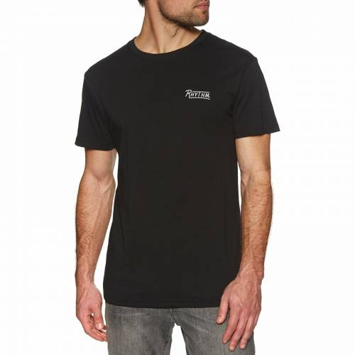 Rhythm Wanderer T-Shirt - Black