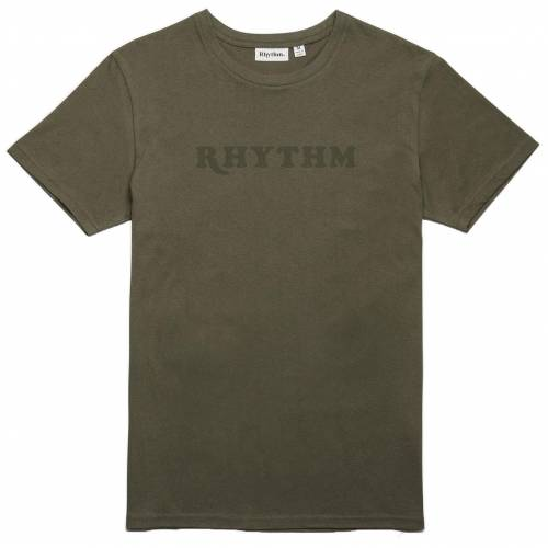 Rhythm Classic T-Shirt - Olive