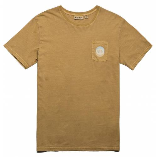 Rhythm Pocket T-Shirt - Washed Almond