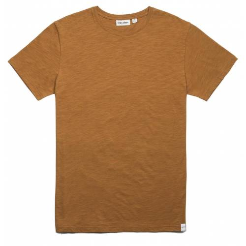 Rhythm Basic Slub T-Shirt - Almond