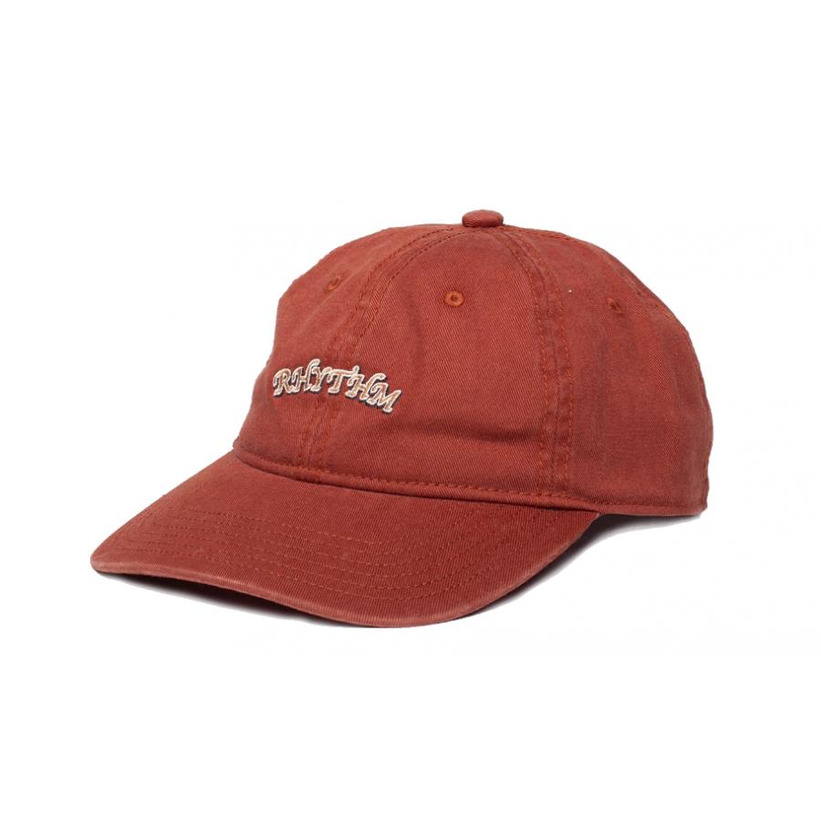Rhythm Vintage Logo Cap - Rust