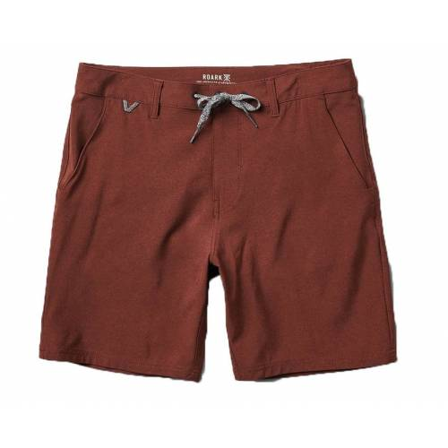 Roark Explorer Hybrid Stretch Shorts - Burgundy