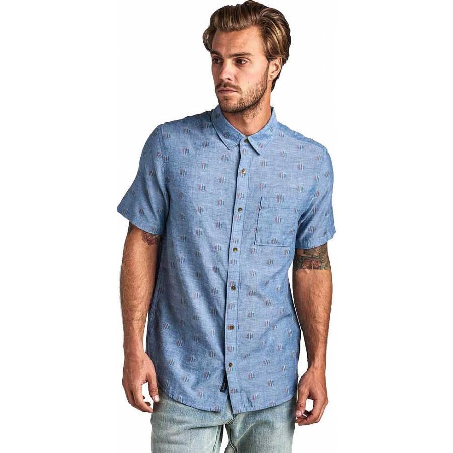 Roark Tao Button Up Shirt - Blue