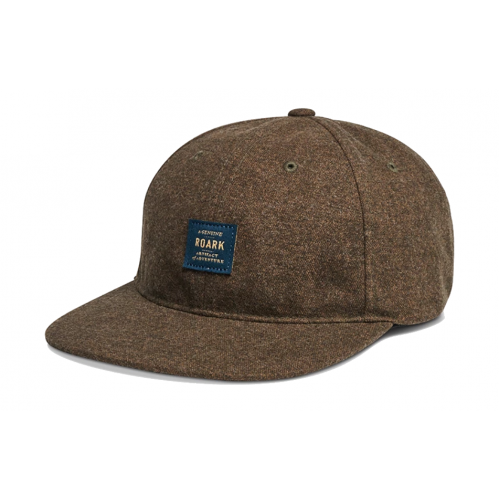 Roark Mill Town Strap Patch Hat - Military