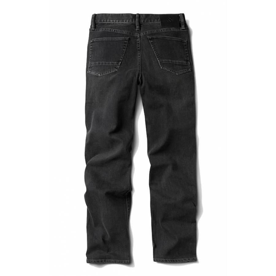 Roark HWY 128 Straight Fit Denim Pants - Worn Black