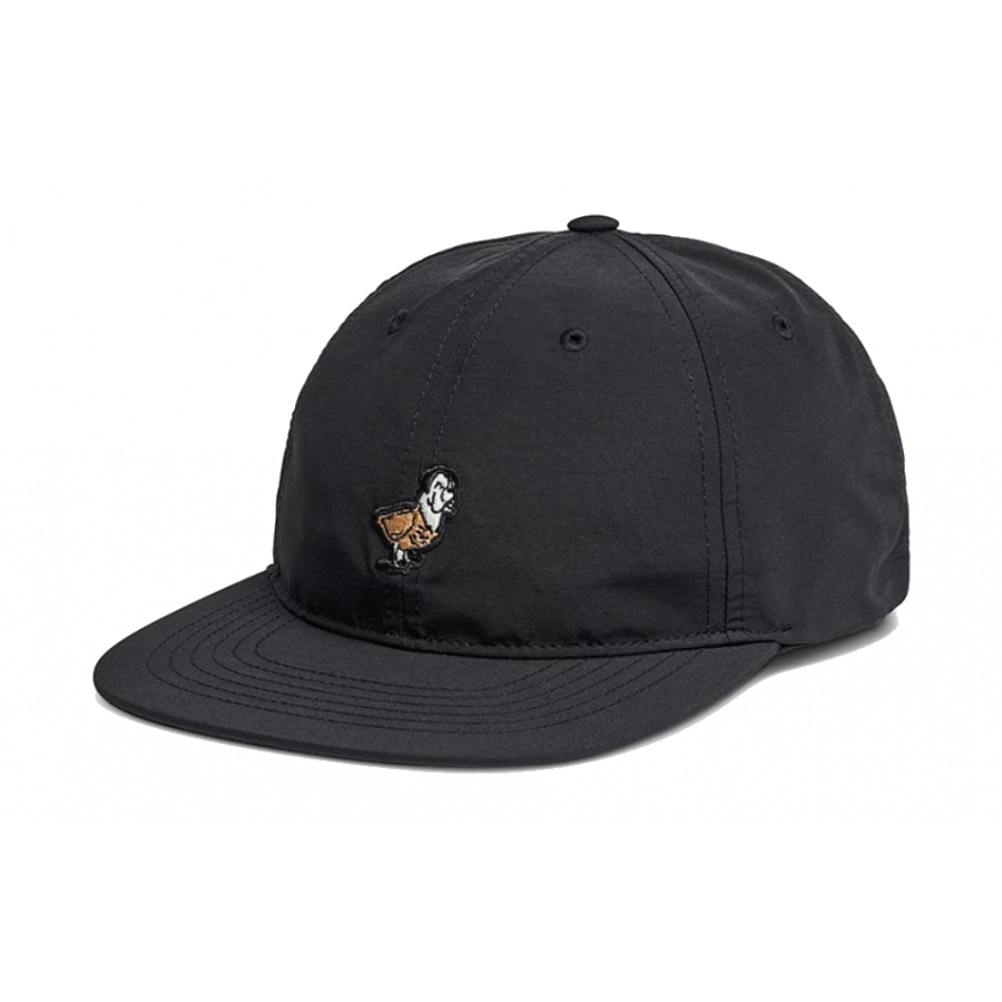 Roark Dog and Duck Snapback Hat - Black