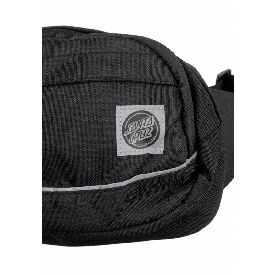 Santa Cruz Pusher Wais Pack - Black