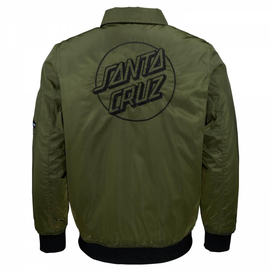Santa Cruz Squad Jacket - Military Green