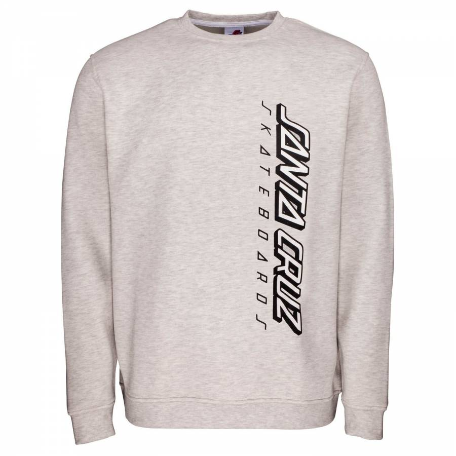 Santa Cruz 2 Colour Strip Crew Sweat - Athletic He...
