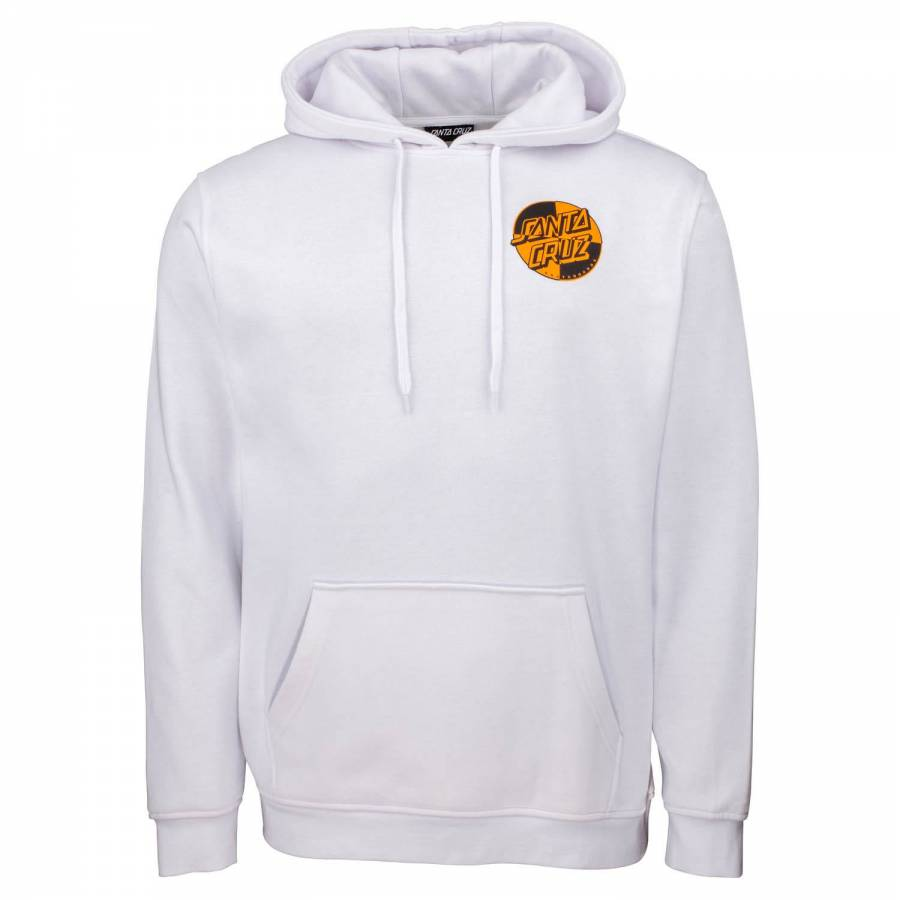 Santa Cruz Crash Dot Hood - White