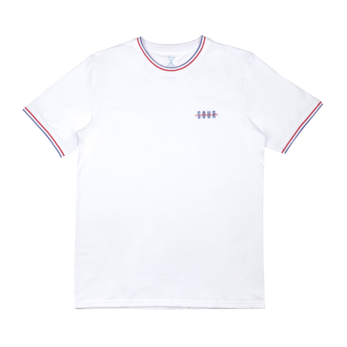 Sour French Battle Tee - White