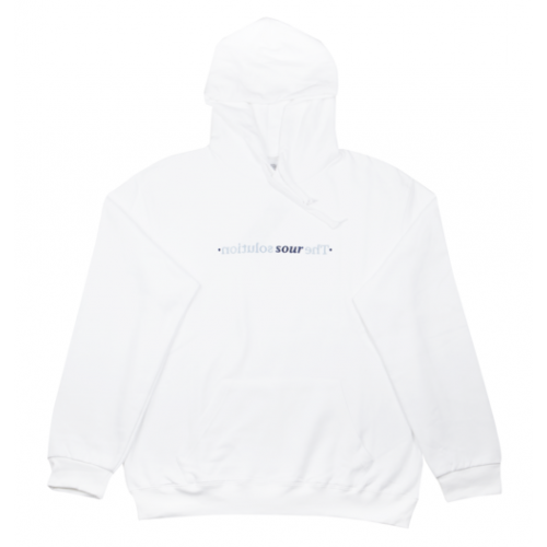 Sour Mirror Hood Sweathirt - White