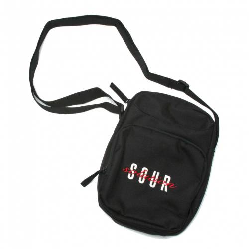 Sour Off Your Chest Shoulder Bag -  Black