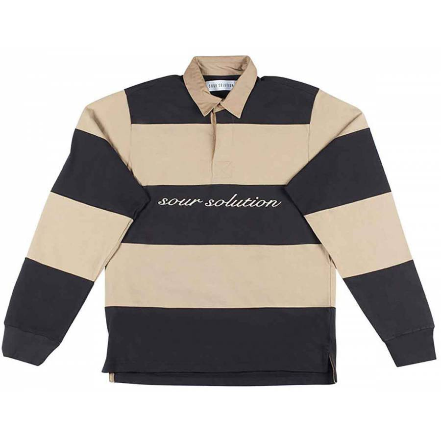 SOUR Rugby Polo - Black