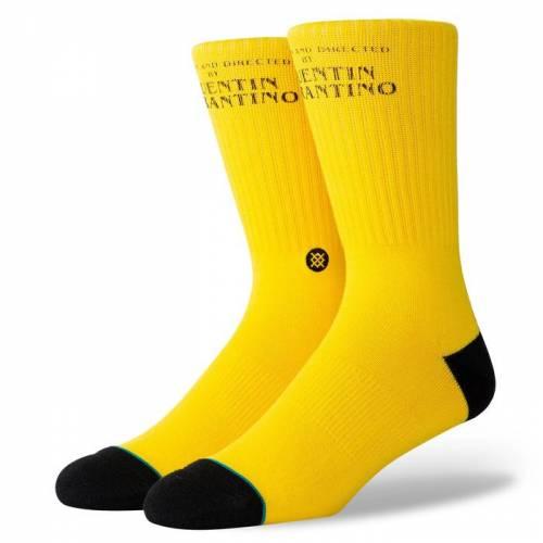 Stance Kill Bill Socks - Yellow