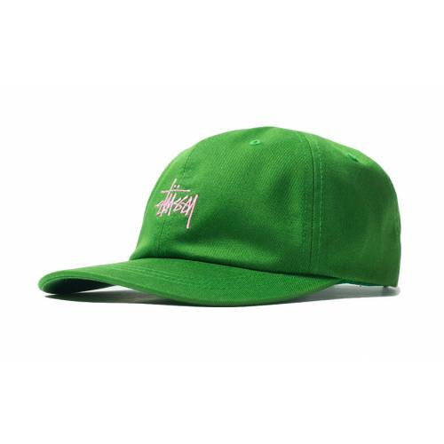 Stussy Stock Low Pro Cap - Green